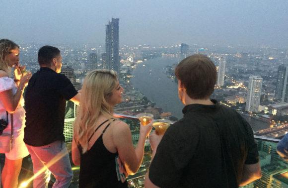 Bangkok: Sirocco, Chinatown & Asiatique Private Night Tour