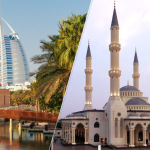 Dubai: Old and Modern Dubai City Tour with Blue Mosque Visit