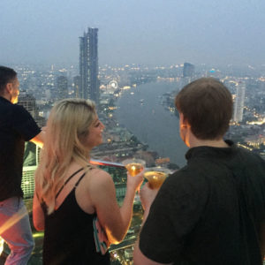 Bangkok: Sirocco, Chinatown & Asiatique Private Night Tour